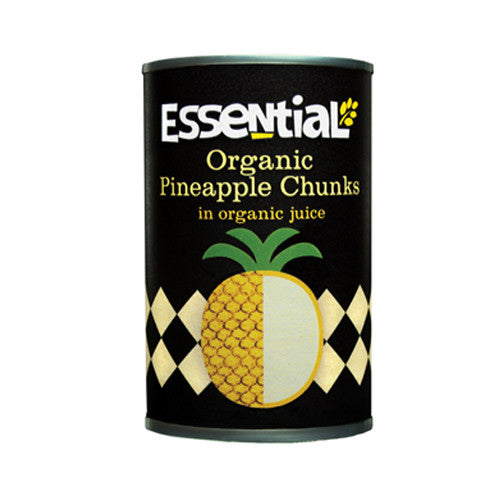 Essential Organic Pineapple Chunks - Roots Fruits & Flowers Glasgow