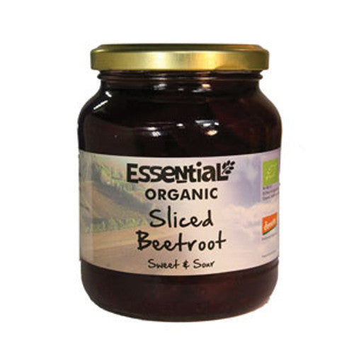 Essential Organic Sliced Beetroot - Roots Fruits & Flowers Glasgow