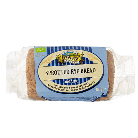 Everfresh Sprouted Rye Bread - Roots Fruits & Flowers Glasgow
