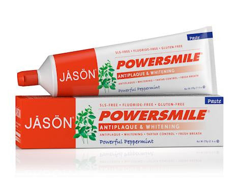 Jason Powersmile Peppermint Toothpaste - Roots Fruits & Flowers Glasgow