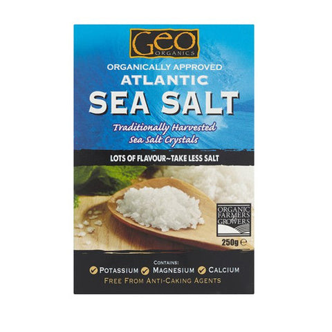 Geo Organics Atlantic Sea Salt - Roots Fruits & Flowers Glasgow
