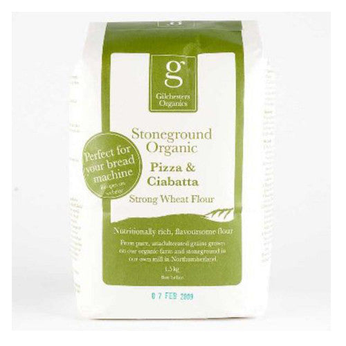 Gilchesters Organics Pizza & Ciabatta Flour - Roots Fruits & Flowers Glasgow - 1
