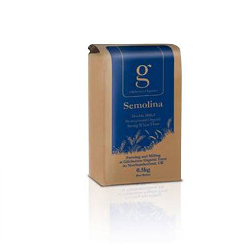 Gilchesters Organics Semolina Flour - Roots Fruits & Flowers Glasgow