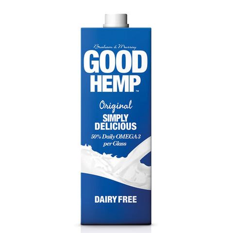Good Hemp Original Hemp Milk - Roots Fruits & Flowers Glasgow