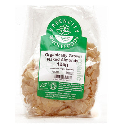 GreenCity Flaked Almonds - Roots Fruits & Flowers Glasgow