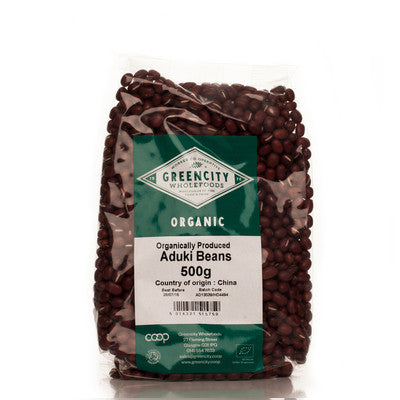 GreenCity Organic Aduki Beans - Roots Fruits & Flowers Glasgow