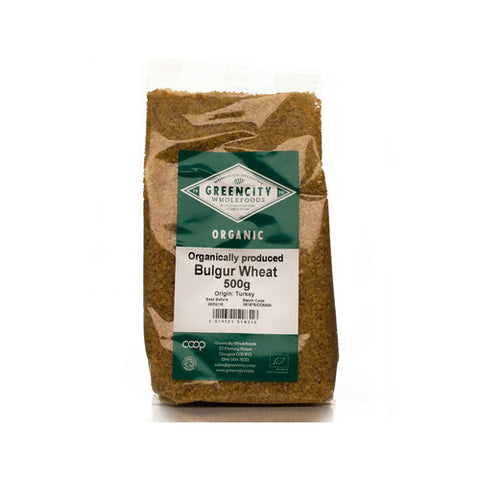 GreenCity Organic Bulgur Wheat - Roots Fruits & Flowers Glasgow