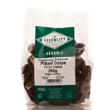 GreenCity Organic Pitted Dates - Roots Fruits & Flowers Glasgow