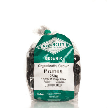 GreenCity Organic Pitted Prunes - Roots Fruits & Flowers Glasgow