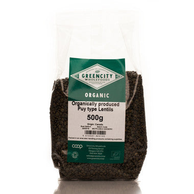 GreenCity Organic Puy Type Lentils - Roots Fruits & Flowers Glasgow