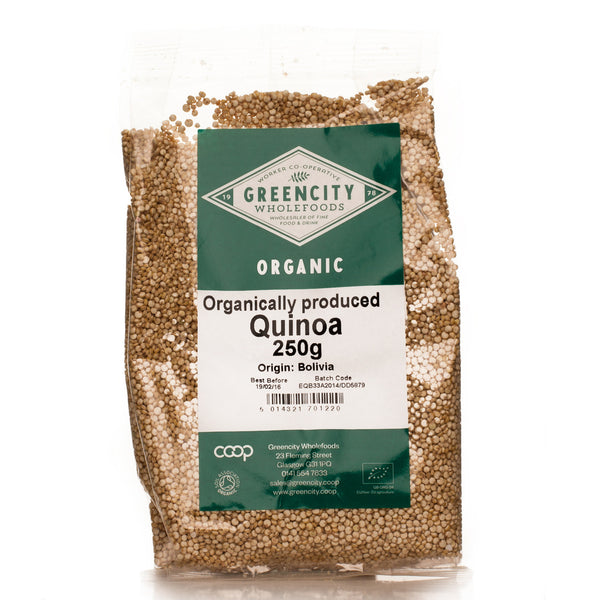 GreenCity Organic Quinoa - Roots Fruits & Flowers Glasgow