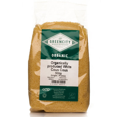 GreenCity Organic White Couscous - Roots Fruits & Flowers Glasgow