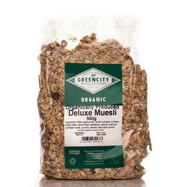 Greencity Organic Deluxe Muesli - Roots Fruits & Flowers Glasgow