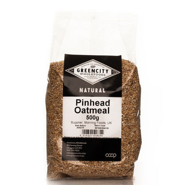Greencity Pinhead Oatmeal - Roots Fruits & Flowers Glasgow