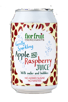Fior Fruit Sparkling Apple & Raspberry Juice
