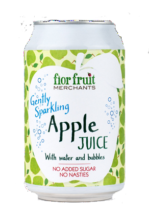 Fior Fruit Sparkling Apple Juice