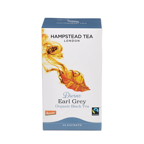 Hampstead Tea Organic Divine Early Grey - Roots Fruits & Flowers Glasgow