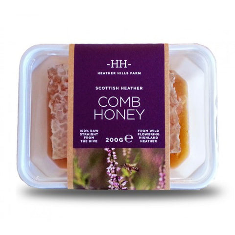 Heather Hills Scottish Comb Honey - Roots Fruits & Flowers Glasgow