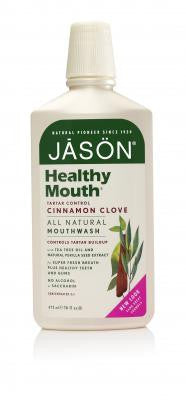 Jason Healthy Tartar Control Mouthwash - Roots Fruits & Flowers Glasgow