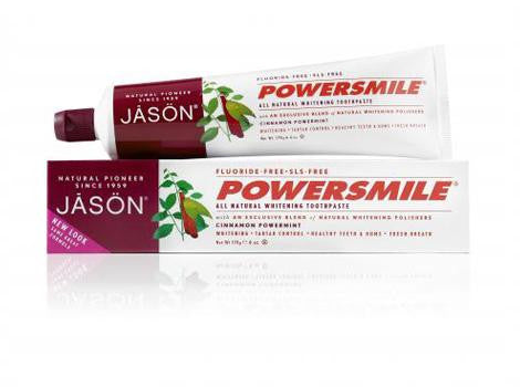 Jason Healthy Mouth Fluoride Free Toothpaste - Roots Fruits & Flowers Glasgow