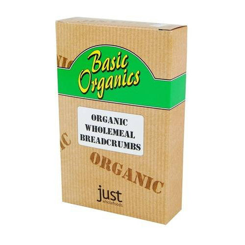 Just Wholefoods Oragnic Wholemeal Breadcrumbs - Roots Fruits & Flowers Glasgow