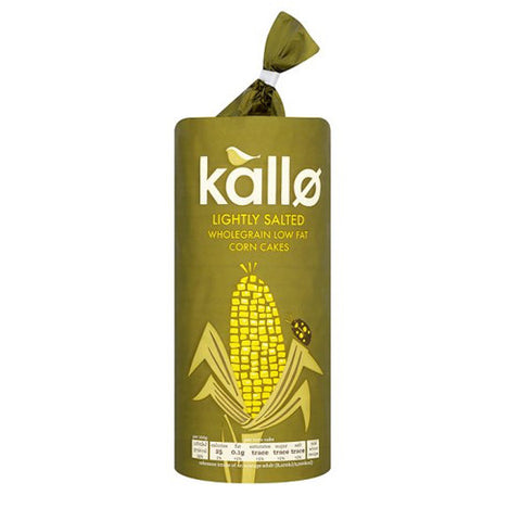 Kallø Organic Corn Cakes - Roots Fruits & Flowers Glasgow