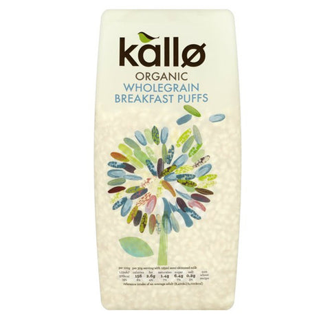 Kallø Wholegrain Puffed Rice Cereal - Roots Fruits & Flowers Glasgow