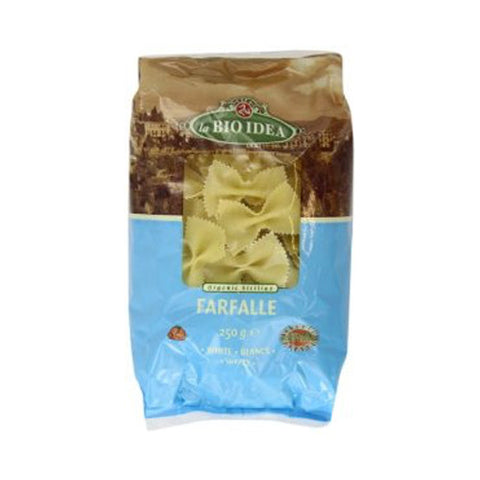 La Bio Idea Organic White Farfalle - Roots Fruits & Flowers Glasgow