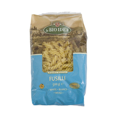 La Bio Idea Organic White Fusilli - Roots Fruits & Flowers Glasgow