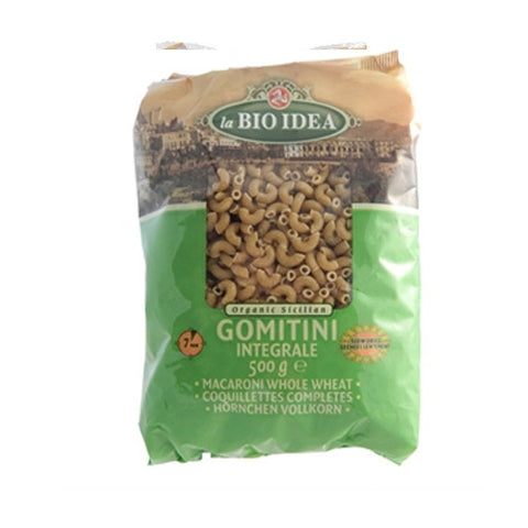 La Bio Idea Organic Whole Wheat Gomitini - Roots Fruits & Flowers Glasgow