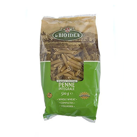 La Bio Idea Organic Whole Wheat Penne - Roots Fruits & Flowers Glasgow