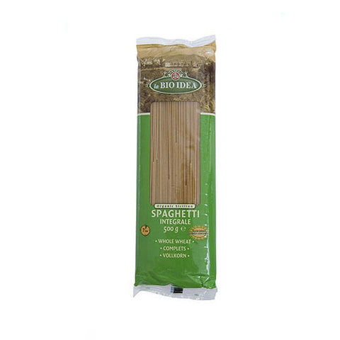 La Bio Idea Organic Whole Wheat Spaghetti - Roots Fruits & Flowers Glasgow