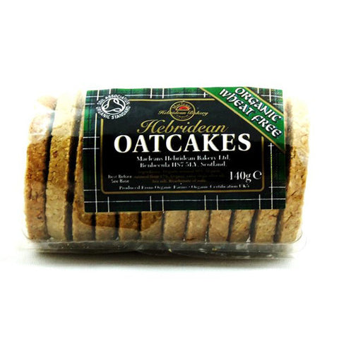 MacLeans Organic Hebridean Oatcakes Wheat Free - Roots Fruits & Flowers Glasgow