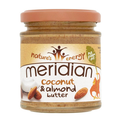 Meridian Coconut & Almond Butter - Roots Fruits & Flowers Glasgow