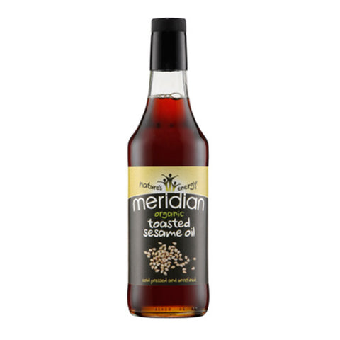 Meridian Organic Toasted Sesame Oil - Roots Fruits & Flowers Glasgow