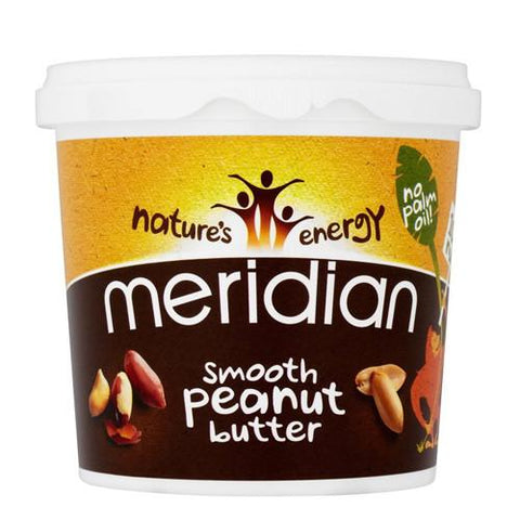 Meridian Smooth Peanut Butter Unsalted 1kg