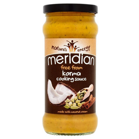 Meridian 'Free From' Korma Cooking Sauce - Roots Fruits & Flowers Glasgow