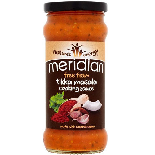 Meridian 'Free From' Tikka Masala Cooking Sauce - Roots Fruits & Flowers Glasgow