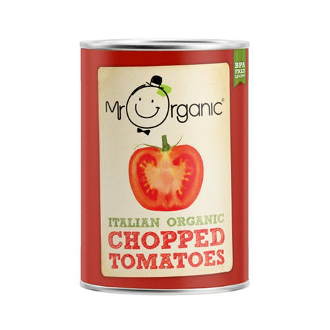 Mr Organic Chopped Tomatoes - Roots Fruits & Flowers Glasgow