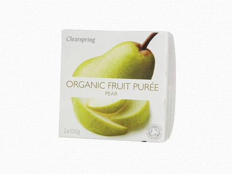 Clearspring Organic Pear Purée