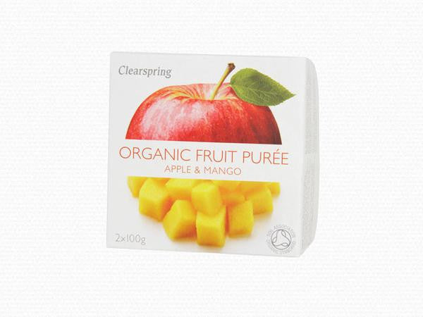 Clearspring Organic Apple & Mango Purée