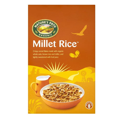 Nature's Path Millet Rice Cereal - Roots Fruits & Flowers Glasgow