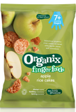 Organix Apple Rice Cakes - Roots Fruits & Flowers Glasgow