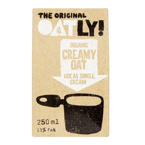 Oatly Organic Oat Cream - Roots Fruits & Flowers Glasgow - 1