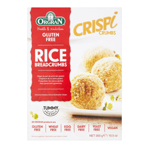 Orgran Gluten Free All Purpose Rice Breadcrumbs - Roots Fruits & Flowers Glasgow