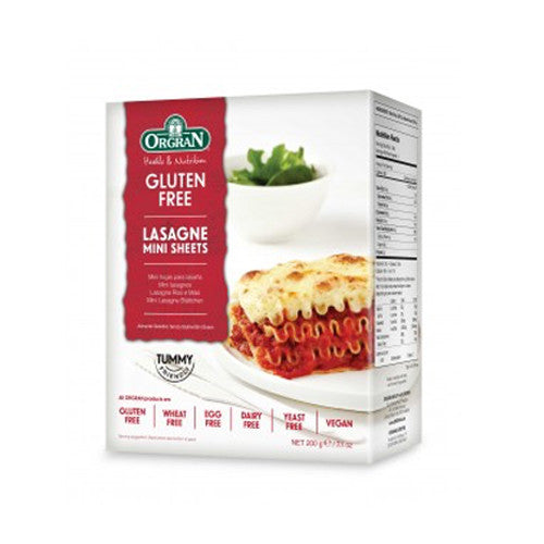 Orgran Gluten Free Lasagne Mini Sheets - Roots Fruits & Flowers Glasgow
