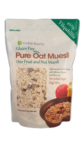 Tilquhillie Oat Muesli with Vine Fruits & Flaked Almonds