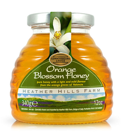 Heather Hills Orange Blossom Honey - Roots Fruits & Flowers Glasgow