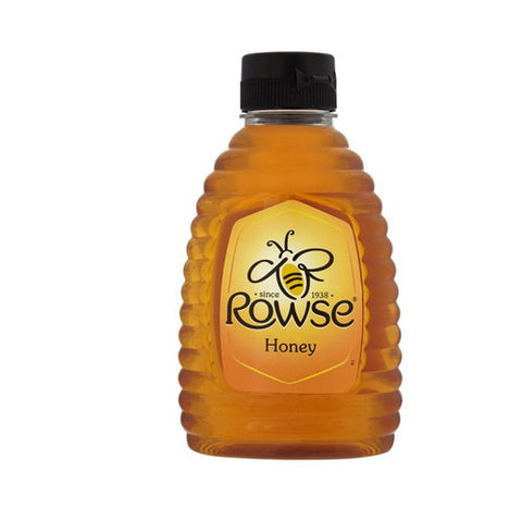 Rowse Squeezy Clear Honey - Roots Fruits & Flowers Glasgow