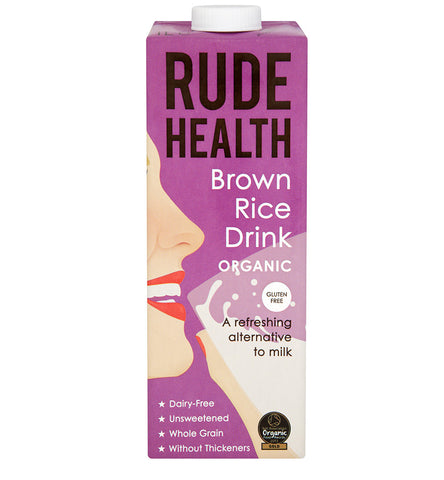 Rude Health Organic Brown Rice Drink - Roots Fruits & Flowers Glasgow